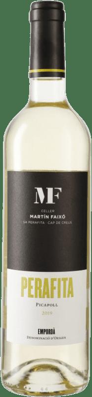 11,95 € 免费送货 | 白酒 Martín Faixó Perafita D.O. Empordà 加泰罗尼亚 西班牙 Picapoll 瓶子 75 cl