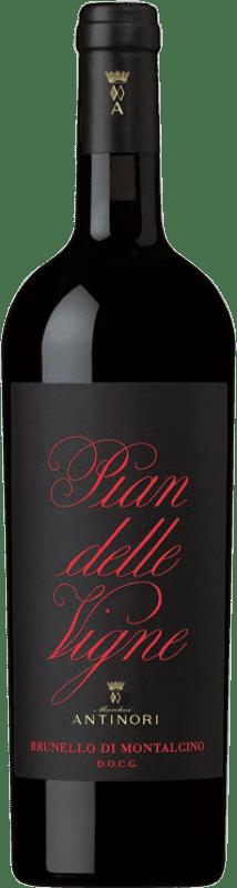 65,95 € Free Shipping | Red wine Marchesi Antinori Pian delle Vigne D.O.C.G. Brunello di Montalcino Italy Bottle 75 cl
