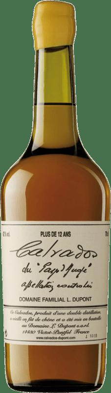87,95 € Envío gratis | Calvados Domaine Dupont Plus 12 Años I.G.P. Calvados Pays d'Auge Francia Botella 70 cl