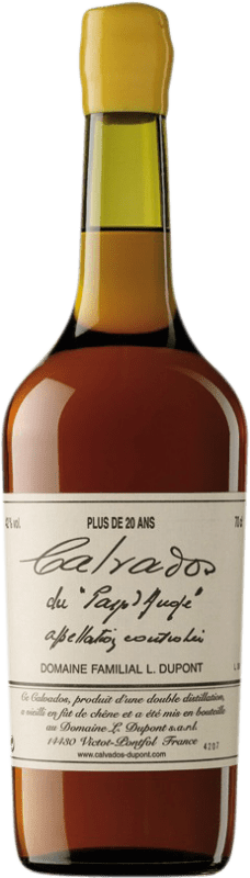 159,95 € Free Shipping | Calvados Domaine Dupont Plus 20 Años I.G.P. Calvados Pays d'Auge France Bottle 70 cl