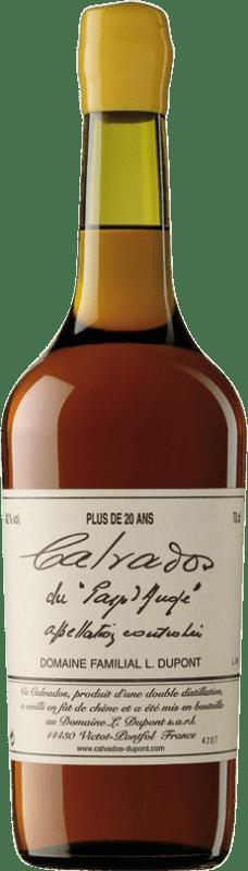 159,95 € 免费送货 | 卡尔瓦多斯 Domaine Dupont Plus 20 Años I.G.P. Calvados Pays d'Auge 法国 瓶子 70 cl