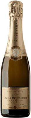 27,95 € | White sparkling Louis Roederer Premier Brut A.O.C. Champagne Champagne France Pinot Black, Chardonnay, Pinot Meunier Half Bottle 37 cl