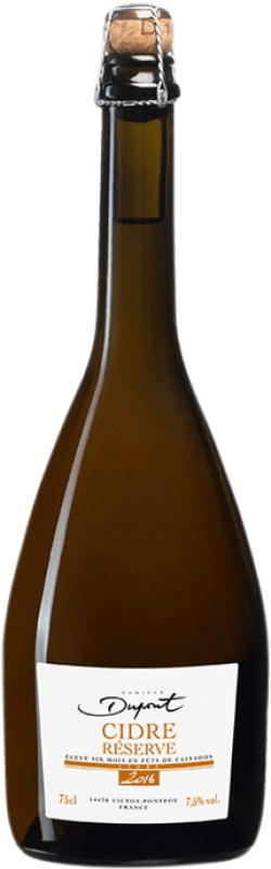 18,95 € Envío gratis | Sidra Domaine Dupont Résérve Francia Botella 75 cl