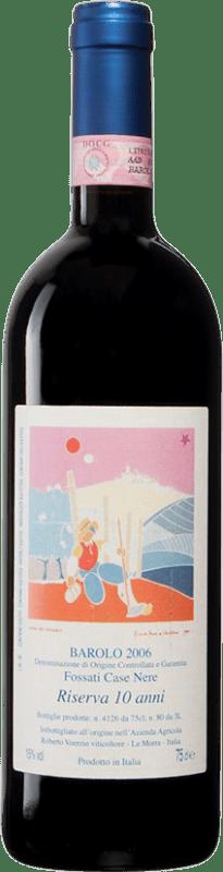 491,95 € Free Shipping | Red wine Roberto Voerzio Riserva 10 Anni Casa Nere Reserva 2006 D.O.C.G. Barolo Piemonte Italy Nebbiolo Bottle 75 cl