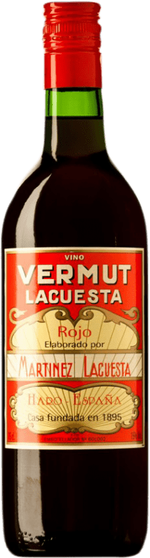 6,95 € Free Shipping | Vermouth Martínez Lacuesta Rojo Spain Bottle 70 cl