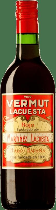 6,95 € Envío gratis | Vermut Martínez Lacuesta Rojo España Botella 70 cl