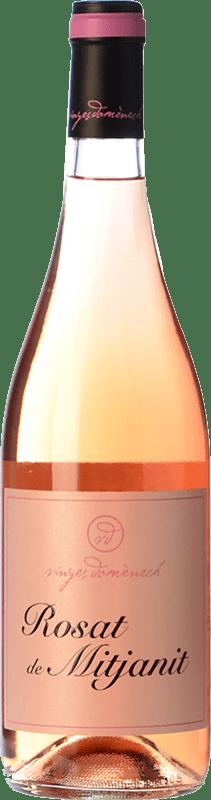 13,95 € Envoi gratuit | Vin rose Domènech Rosat de Mitjanit D.O. Montsant Espagne Grenache Poilu Bouteille 75 cl