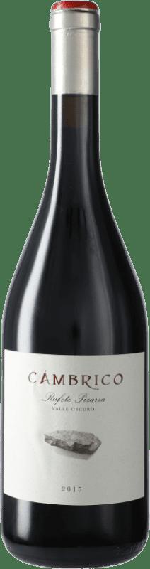 55,95 € Free Shipping | Red wine Cámbrico Rufete Pizarra I.G.P. Vino de la Tierra de Castilla y León Castilla y León Spain Tempranillo Bottle 75 cl