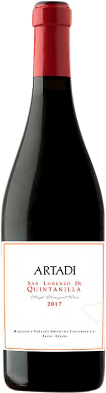 55,95 € | Red wine Artadi San Lorenzo de Quintanilla D.O.Ca. Rioja Spain Tempranillo Bottle 75 cl
