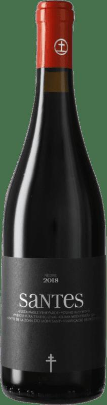 6,95 € Envío gratis | Vino tinto Portal del Montsant Santes D.O. Catalunya Cataluña España Botella 75 cl