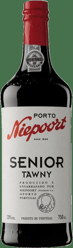 22,95 € Free Shipping | Red wine Niepoort Senior Tawny I.G. Porto Porto Portugal Touriga Franca, Touriga Nacional, Tinta Roriz Bottle 75 cl