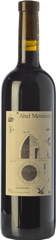 25,95 € Free Shipping | Red wine Abel Mendoza Sin Sulfuroso D.O.Ca. Rioja Spain Tempranillo Bottle 75 cl