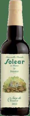 26,95 € | Fortified wine Barbadillo Solear en Rama D.O. Manzanilla-Sanlúcar de Barrameda Sanlucar de Barrameda Spain Palomino Fino Half Bottle 37 cl