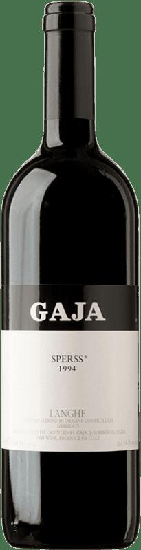 232,95 € Free Shipping | Red wine Gaja Sperss 1994 D.O.C.G. Barolo Piemonte Italy Nebbiolo, Barbera Bottle 75 cl