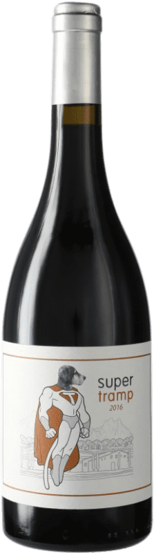 25,95 € Free Shipping | Red wine Can Grau Vell Super Tramp D.O. Catalunya Catalonia Spain Bottle 75 cl