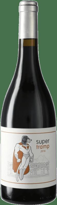 25,95 € | Red wine Can Grau Vell Super Tramp D.O. Catalunya Catalonia Spain Bottle 75 cl