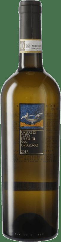 19,95 € Envío gratis | Vino blanco Feudi di San Gregorio Tufo I.G.T. Campania Campania Italia Greco Botella 75 cl