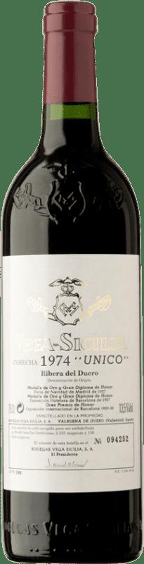 686,95 € | Red wine Vega Sicilia Único 1974 D.O. Ribera del Duero Castilla y León Spain Tempranillo, Cabernet Sauvignon Bottle 75 cl