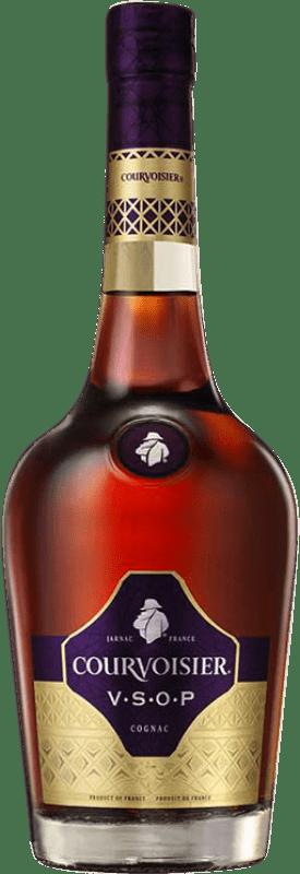 33,95 € Envío gratis | Coñac Courvoisier V.S.O.P. A.O.C. Cognac Francia Botella 70 cl