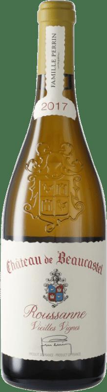 166,95 € Free Shipping | White wine Château Beaucastel V.V. A.O.C. Châteauneuf-du-Pape France Roussanne Bottle 75 cl