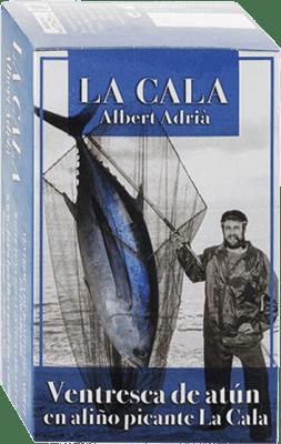 9,95 € 免费送货 | Conservas de Pescado La Cala Ventresca de Atún Aliño Picante 西班牙