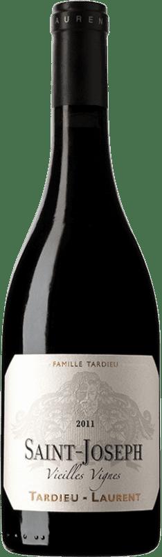 37,95 € Free Shipping | Red wine Tardieu-Laurent Vieilles Vignes A.O.C. Saint-Joseph France Bottle 75 cl
