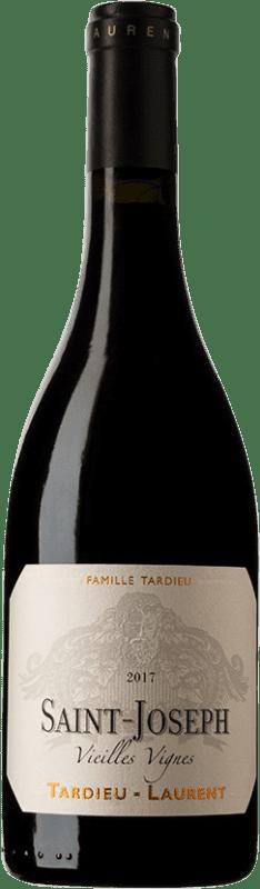 46,95 € Free Shipping | Red wine Tardieu-Laurent Vieilles Vignes A.O.C. Saint-Joseph France Syrah, Serine Bottle 75 cl