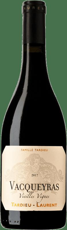 32,95 € Free Shipping | Red wine Tardieu-Laurent Vieilles Vignes A.O.C. Vacqueyras France Syrah, Grenache Bottle 75 cl