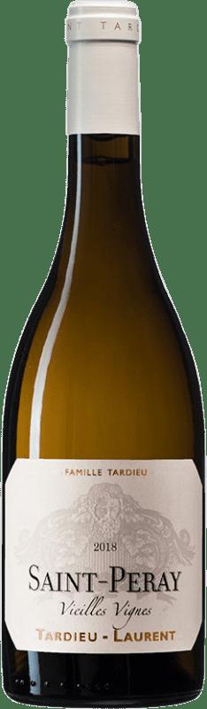 29,95 € Free Shipping | White wine Tardieu-Laurent Vignes Vieilles Blanc A.O.C. Saint-Péray France Roussanne, Marsanne Bottle 75 cl