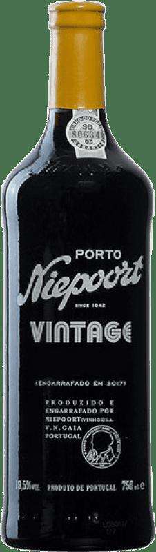 75,95 € Free Shipping | Red wine Niepoort Vintage I.G. Porto Porto Portugal Touriga Franca, Touriga Nacional, Tinta Roriz Bottle 75 cl