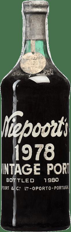 512,95 € Free Shipping | Red wine Niepoort Vintage 1978 I.G. Porto Porto Portugal Touriga Franca, Touriga Nacional, Tinta Roriz Bottle 75 cl