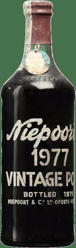 472,95 € Free Shipping | Red wine Niepoort Vintage 1977 I.G. Porto Porto Portugal Touriga Franca, Touriga Nacional, Tinta Roriz Bottle 75 cl