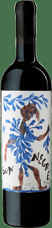 226,95 € Envío gratis | Vino tinto Ànima Negra Vinya Son Negre I.G.P. Vi de la Terra de Mallorca Mallorca España Callet, Fogoneu, Mantonegro Botella 75 cl