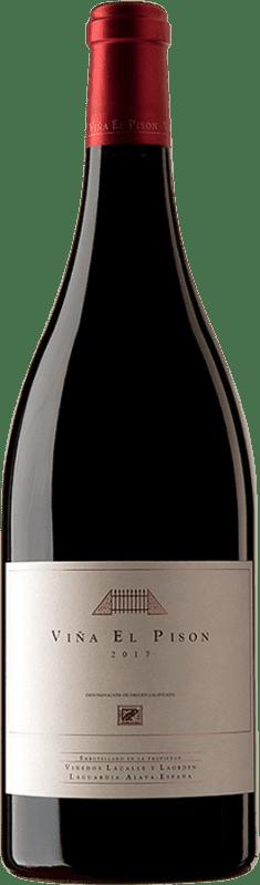 727,95 € 免费送货 | 红酒 Artadi Viña El Pisón D.O. Navarra 纳瓦拉 西班牙 Tempranillo 瓶子 Magnum 1,5 L