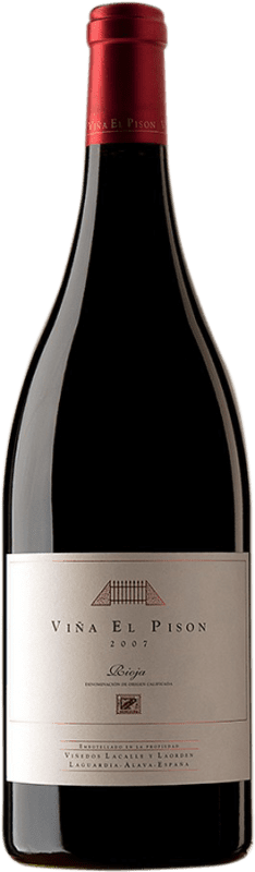 1 138,95 € Free Shipping | Red wine Artadi Viña El Pisón 2007 D.O. Navarra Navarre Spain Tempranillo Magnum Bottle 1,5 L