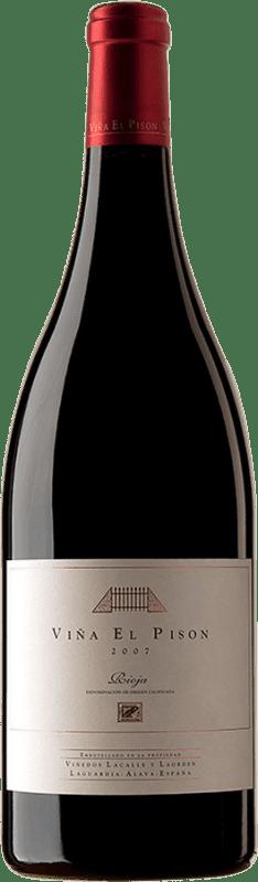 1 138,95 € Envío gratis | Vino tinto Artadi Viña El Pisón 2007 D.O. Navarra Navarra España Tempranillo Botella Mágnum 1,5 L