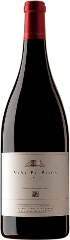 1 499,95 € Envío gratis | Vino tinto Artadi Viña El Pisón D.O. Navarra Navarra España Tempranillo Botella Jéroboam-Doble Mágnum 3 L