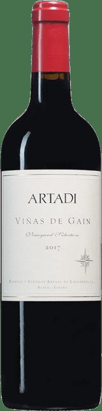 21,95 € Envío gratis | Vino tinto Artadi Viñas de Gain D.O. Navarra Navarra España Tempranillo Botella 75 cl