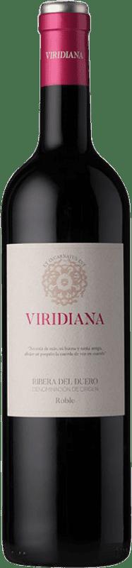 8,95 € 免费送货 | 红酒 Dominio de Atauta Viridiana D.O. Ribera del Duero 卡斯蒂利亚莱昂 西班牙 瓶子 75 cl