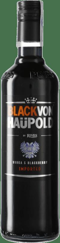 9,95 € Envoi gratuit | Vodka Rives Von Haupold Black Espagne Bouteille 70 cl