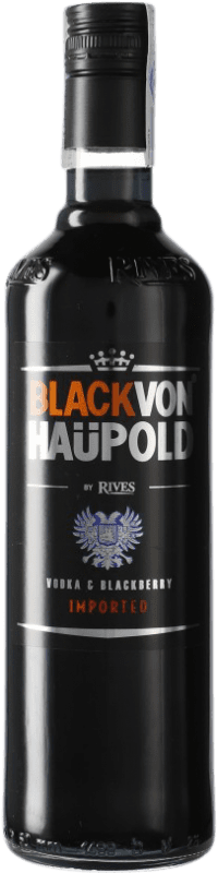 9,95 € Envío gratis | Vodka Rives Von Haupold Black España Botella 70 cl