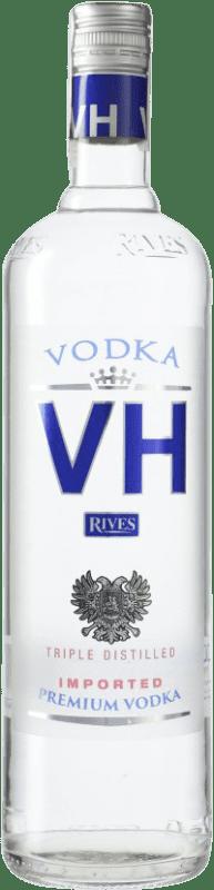 11,95 € Envío gratis | Vodka Rives Von Haupold Premium España Botella Misil 1 L
