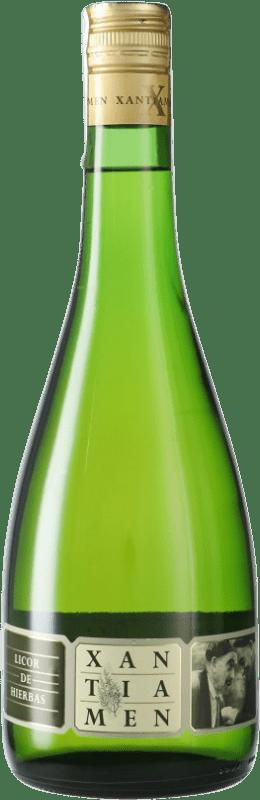 8,95 € 免费送货 | 草药利口酒 Osborne Xantiament Hierbas 加利西亚 西班牙 瓶子 70 cl