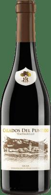 14,95 € Spedizione Gratuita | Vino rosso Páganos Calados del Puntido 2014 D.O.Ca. Rioja La Rioja Spagna Tempranillo Bottiglia 75 cl